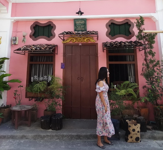 Colour and charm in Phuket's Old Town.