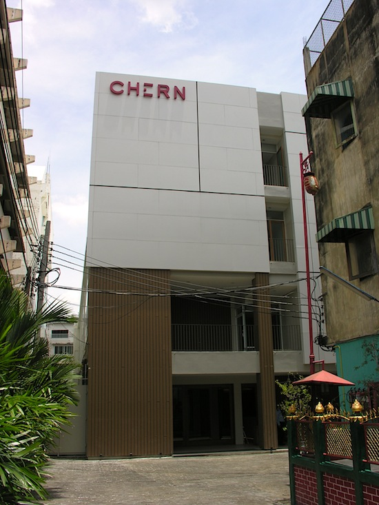 The new way: Chern Boutique Hostel, Bangkok.