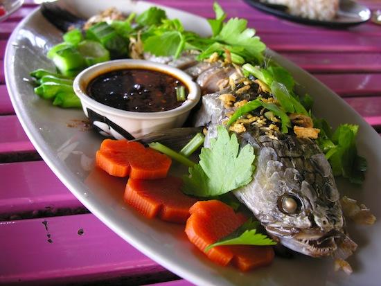 Mark makes Thai food less scary.