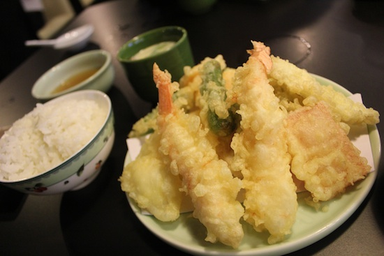 Everything is better tempura-ed. 