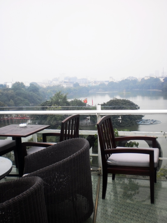 Why is the sun never out when I go to take shots of Hoan Kiem Lake?