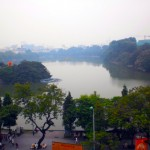 Taken from Ho Guom Plaza on another grey day.