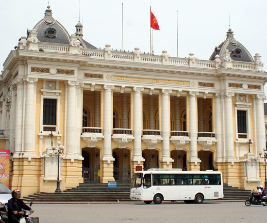 The centrepiece of Hanoi's French Quarter.