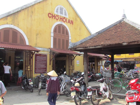 Hoi An's Central Food Hall. Packed full of the best street eats in town.
