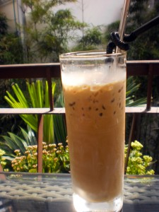 A Saigon coffee in Hanoi.