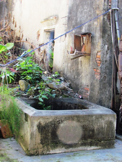 An old Cham well down an alley near Tran Phu.