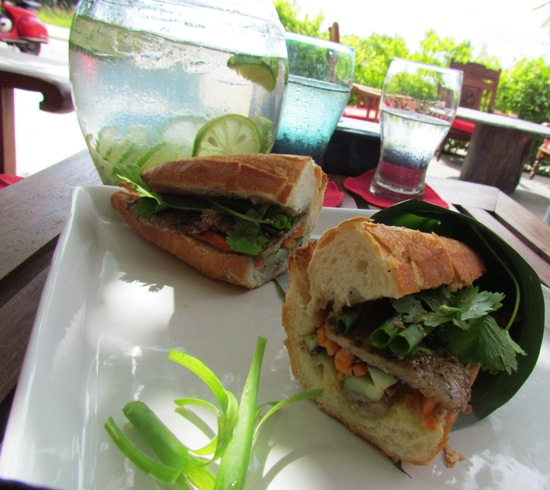 Bahn Mi Thit Heo - the most argued about item on the menu.