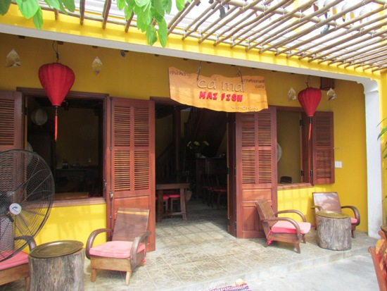 Ca Mai restaurant, Hoi An.