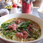 Bun Bo Hue - looks a bit like pho, but not same, same.