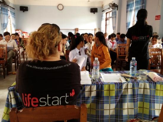 Lifestart scholarship students.