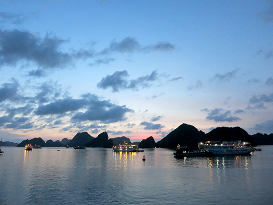 Ha Long Bay is stunning no matter what your budget.
