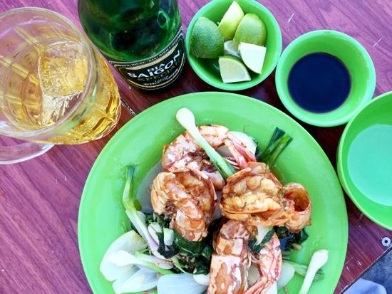 NT_Lang Chai Hai San Dai Duong seafood_fried prawns