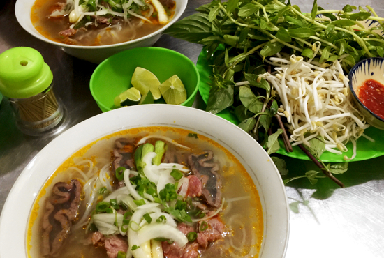 Pho Ba Tuet. You'll be dreaming about this pho for ages afterwards.